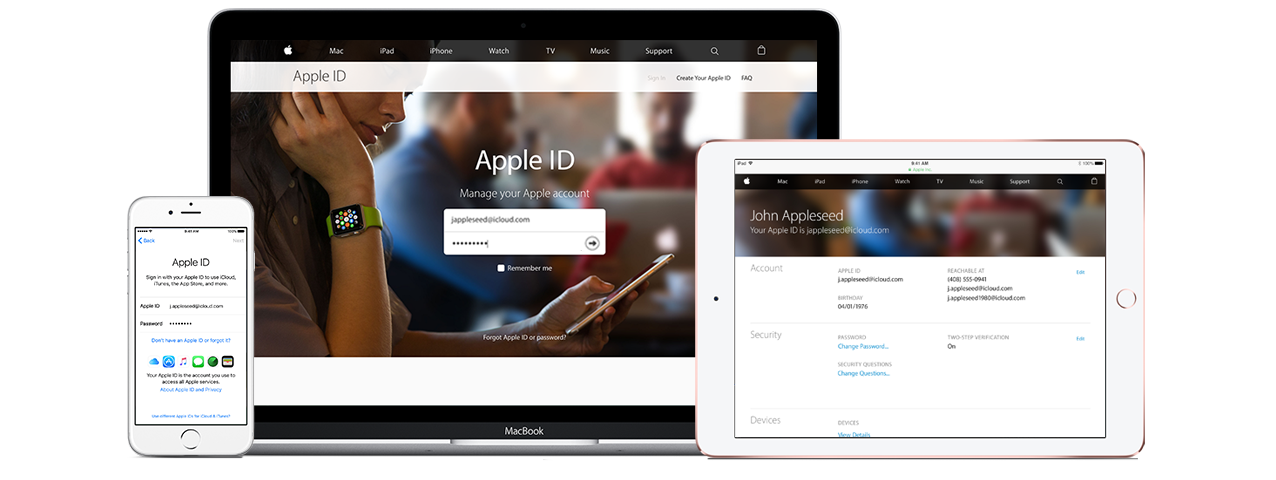 Managing your Apple ID - Official Apple Support