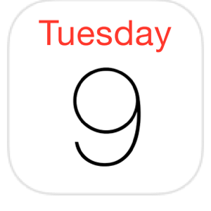Related Keywords & Suggestions for iphone calendar icon