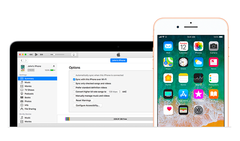 Sync Your Ios Device With Itunes