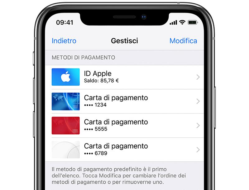 Abbonamenti E Fatturazione Supporto Apple Ufficiale