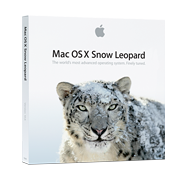 Coffret Mac OS X 10.6 Snow Leopard