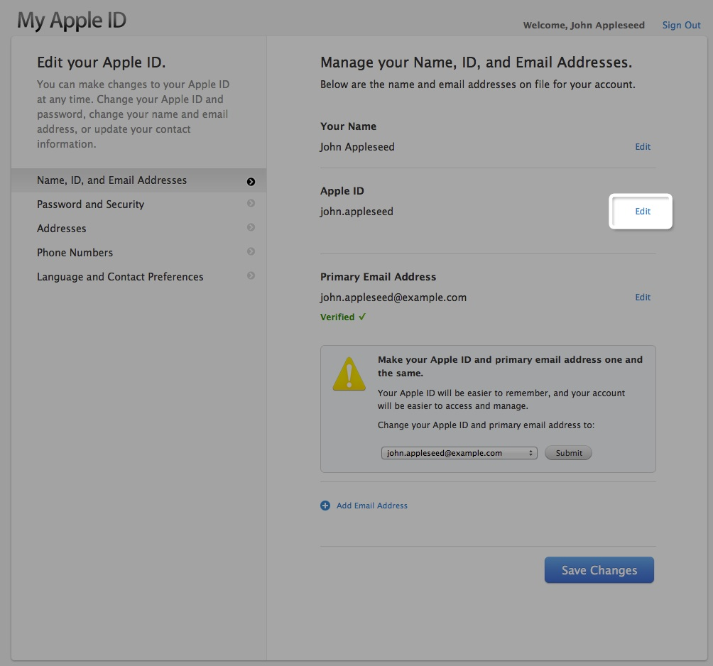 Appleid apple com