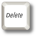 how to delete forward on pc