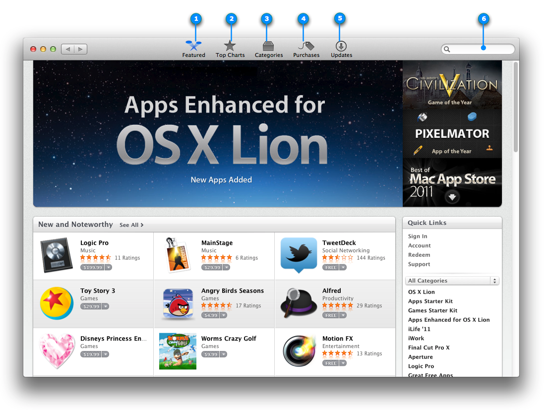 mac basics applications files and folders os x lion apple support. Black Bedroom Furniture Sets. Home Design Ideas