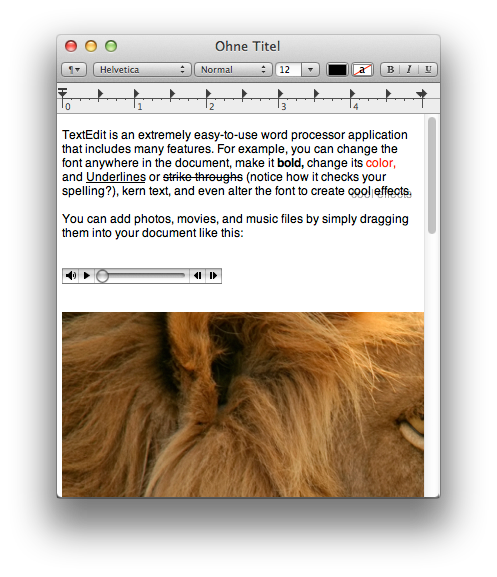 Mac Grundkurs Textedit Apple Support