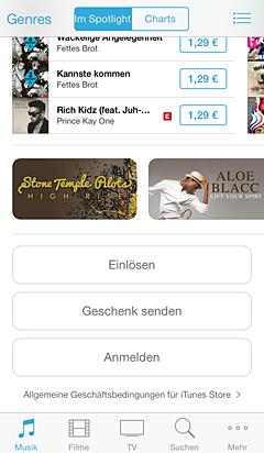 Wenn Sie Vergangene Kaufe Mit Ihrer Apple Id Herunterladen