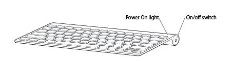 tastiera wireless apple come riporre la tastiera quando non in uso supporto apple. Black Bedroom Furniture Sets. Home Design Ideas