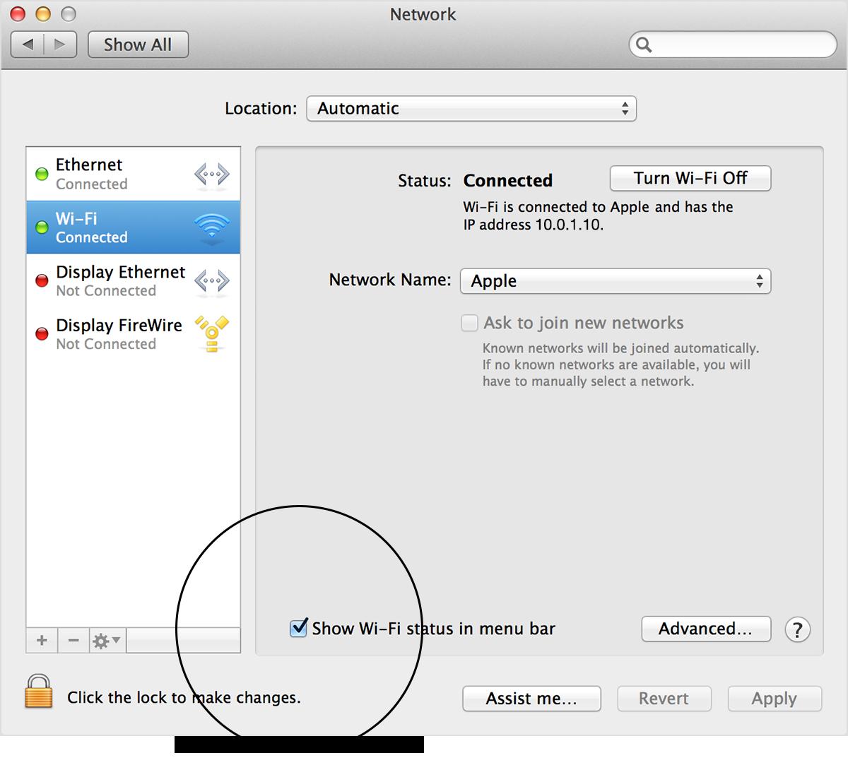 OS X Cómo utilizar el menú de estado Wi Fi Soporte