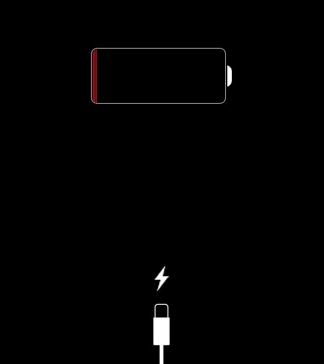 Wie sieht es aus wenn mein IPhone lädt? (Ladekabel)