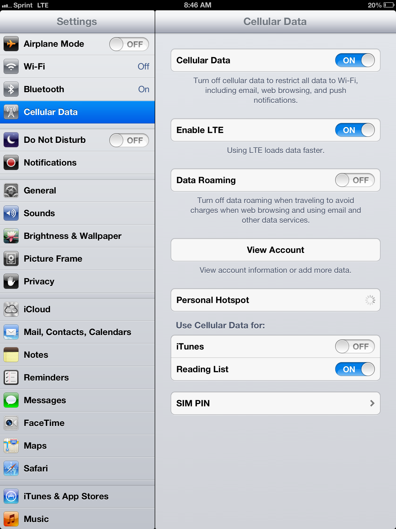 how to set up itunes account on ipad