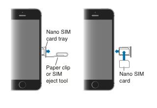 comment mettre carte sim dans iphone 6