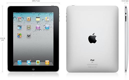Размеры iPhone3GS