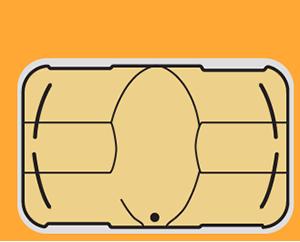 micro-SIM card