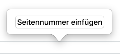 Pages Für Mac Hinzufügen Von Seitenzahlen In Einem Pages Dokument