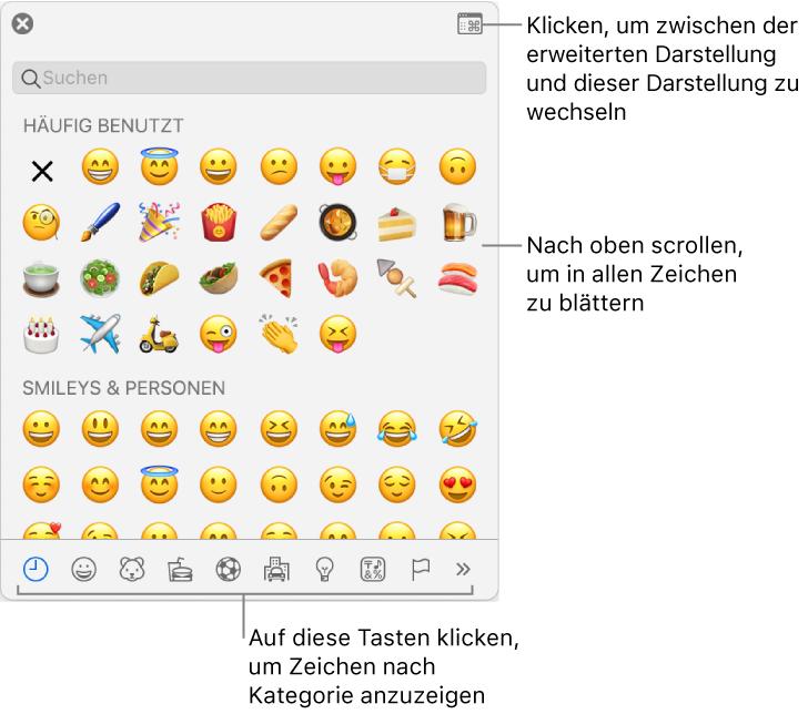 Pages für Mac: Verwenden von Akzent- und Sonderzeichen in einem ...