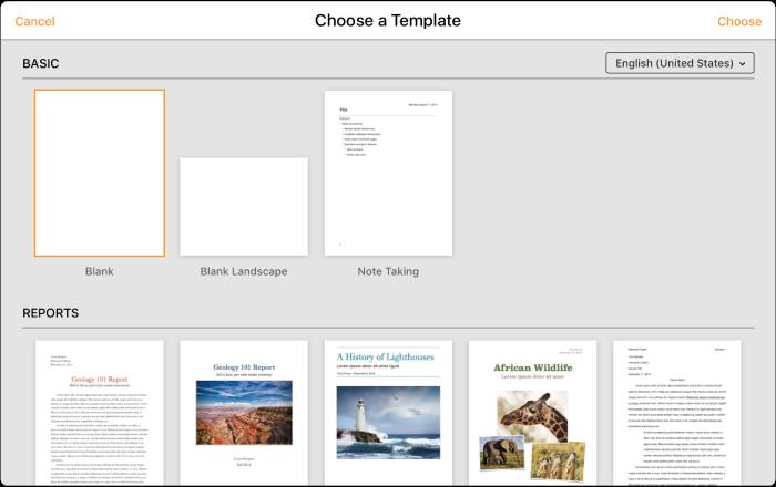 Pages Für Icloud Ein Dokument Erstellen