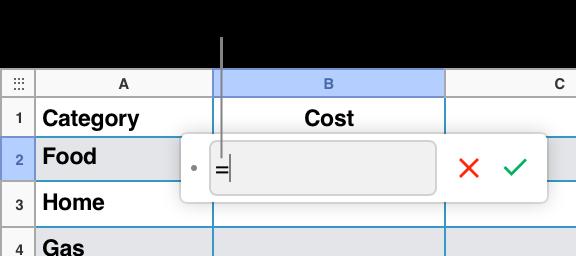 numbers f r icloud berechnen von werten mithilfe der daten in tabellenzellen. Black Bedroom Furniture Sets. Home Design Ideas