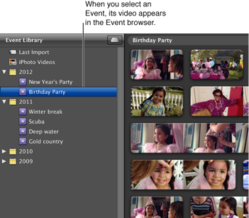 how to add clips to imovie library