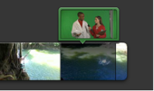 how to use a green screen on imovie ipad