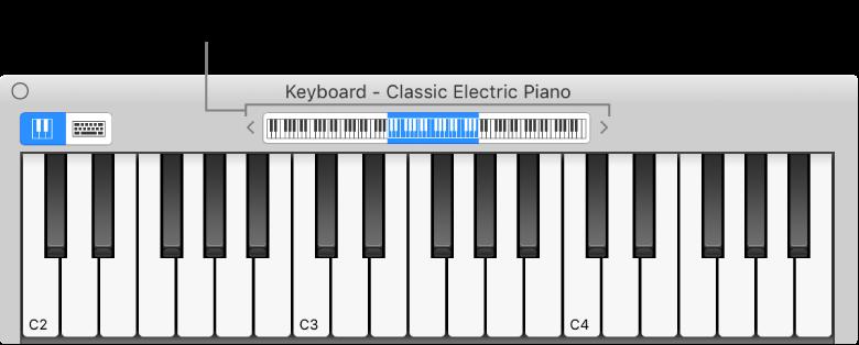 GarageBand for Mac: Play software instruments