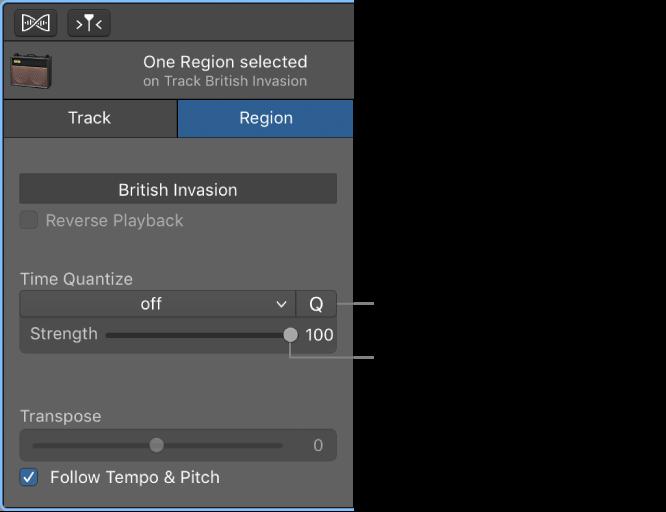 Garageband For Mac Quantize The Timing Of Audio Regions
