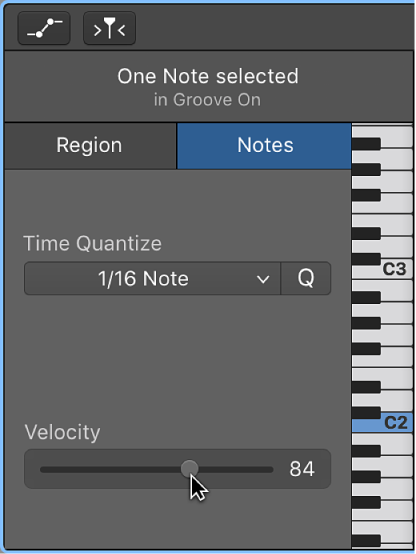 Garageband For Mac Edit Notes In The Piano Roll Editor