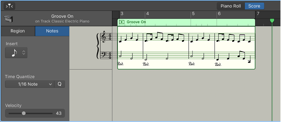 Garageband For Mac View Tracks As Music Notation