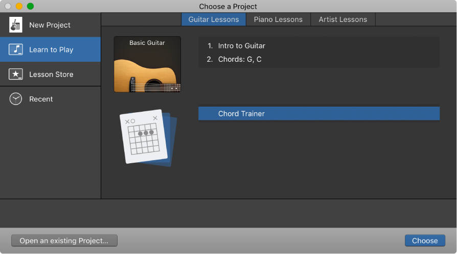 Garageband For Mac Practice Guitar Chords