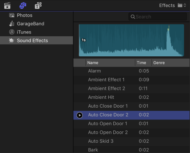 Final Cut Pro X: Add music and sound to a project