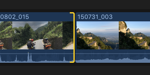 Final Cut Pro X: Add transitions to your project