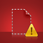 A Missing File alert icon
