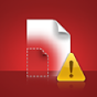 A Missing Proxy File alert icon