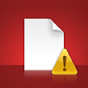 A Modified File alert icon