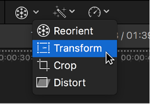 Final Cut Pro X: Work with built-in effects
