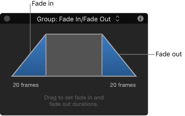 Motion: Fade In/Fade Out