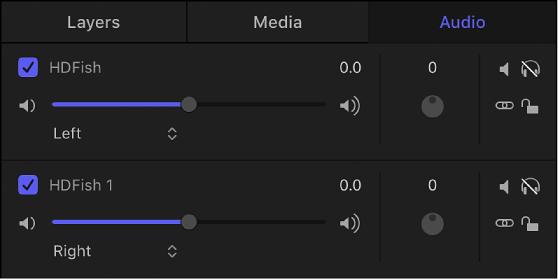 Motion: Add audio files