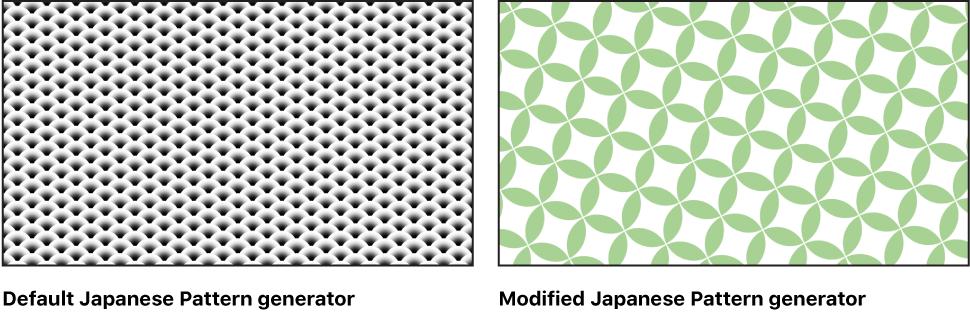 Motion: Japanese Pattern