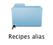 Arrow Icons - Alias on Mac