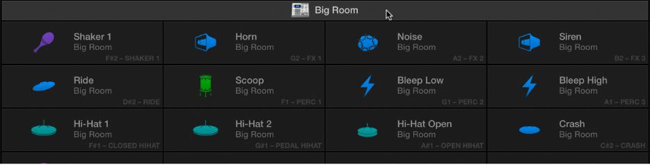 Logic Pro X: Use Drum Machine Designer