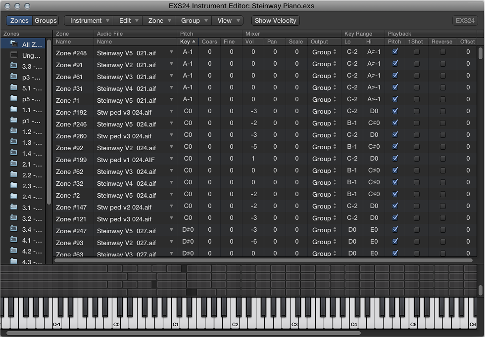 Logic Pro X: EXS24 mkII overview
