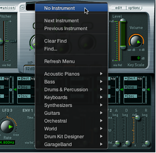 Logic Pro X: Manage sampler instruments