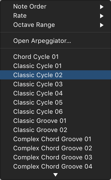 Logic Pro X Use The Arpeggiator With A Smart Control