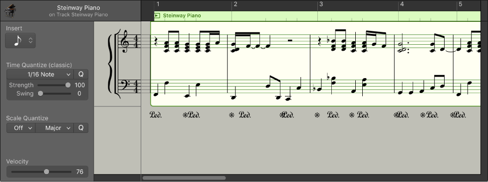Logic Pro X View Tracks As Music Notation In The Score Editor