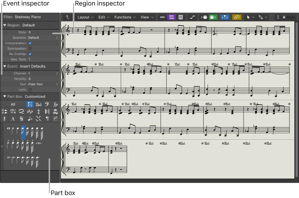 Logic Pro X Score Editor Overview