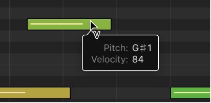 Logic Pro X: Get started with the Piano Roll Editor