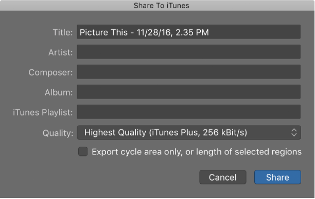 Itunes Library Logic