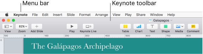 Keynote for mac customize the keynote toolbar ccuart Image collections