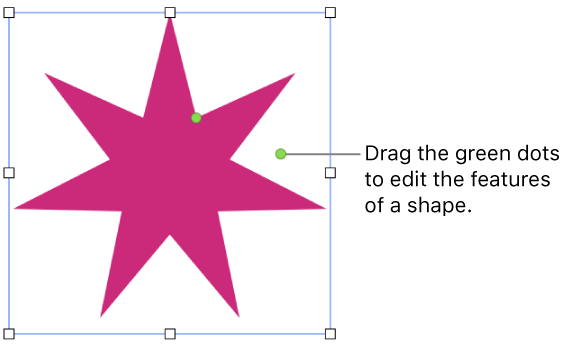 Keynote for Mac: Add and edit a shape in Keynote