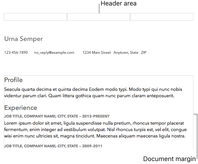 Pages for Mac: View formatting symbols and layout in a Pages