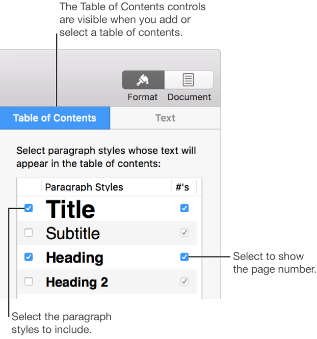 Add headers and footers in a page layout document